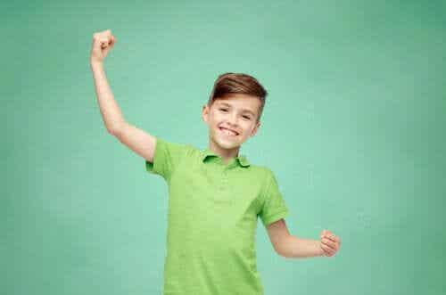 Een blij kind is een gelukkig kind