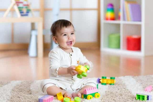 Kinderen ontwikkelen door middel van spelen