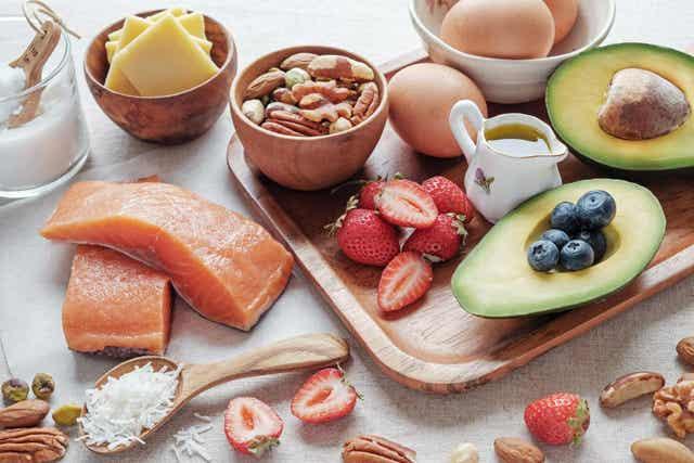 Gezonde voeding met omega 3-vetzuren voor kinderen met hoog cholesterol