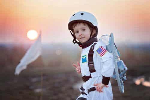 Kinderboeken voor jonge astronauten