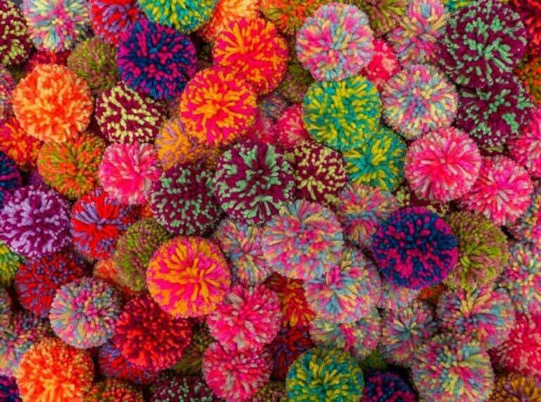 Knutselwerkjes met pompons: leuk voor kinderen