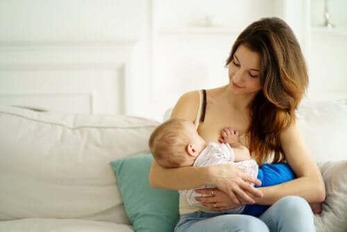 Borstvoeding biedt vele voordelen voor de baby