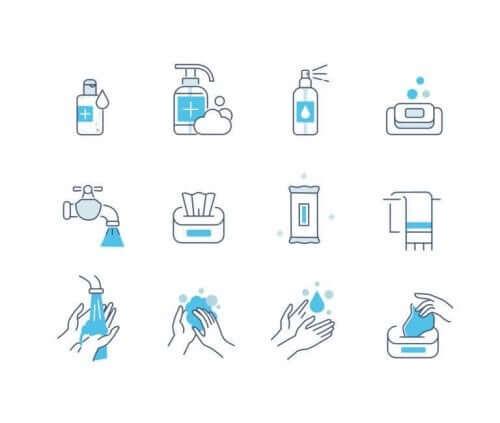 Wat zijn visuele schema's met pictogrammen?