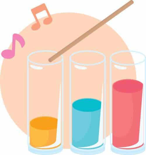 Muziek maken met water