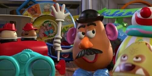 Meneer Aardappelhoofd: een speeltje voor de ontwikkeling van kinderen