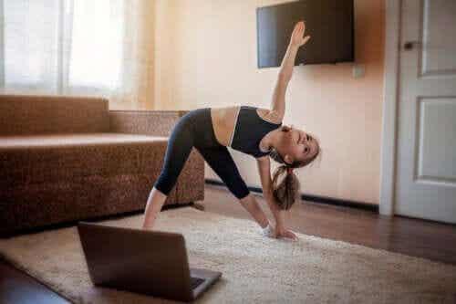 Bewegingsapps voor kinderen om thuis te gebruiken