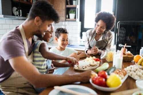 Hoe plan je een gezond familiemenu?