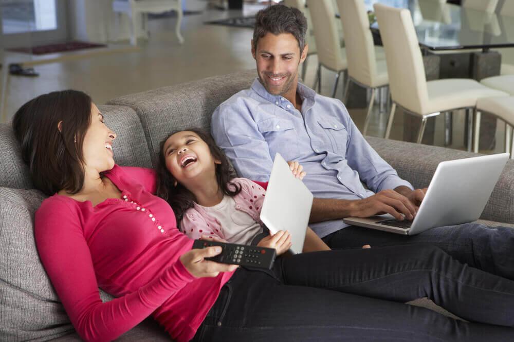 Tijd thuis met je gezin: voel je vrij om niets te doen