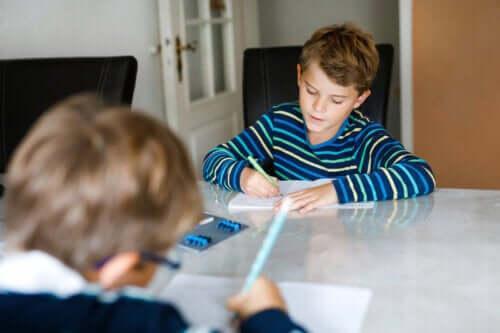 De voordelen van creatief schrijven in de kindertijd