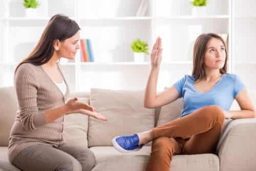 Adolescenten willen genegenheid