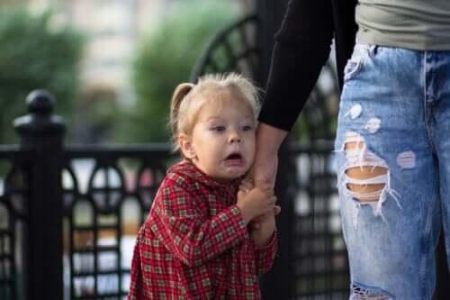 De angst voor poppen bij kinderen