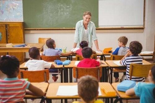 De overgang van kleuterschool naar lagere school