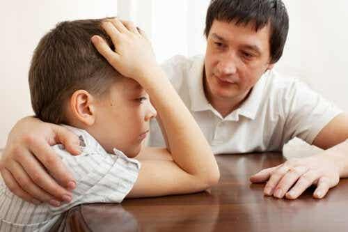 Verberg geen negatieve emoties voor je kinderen