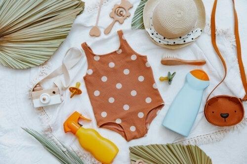 Natuurlijke zonnefilters voor baby's: zijn ze doeltreffend?