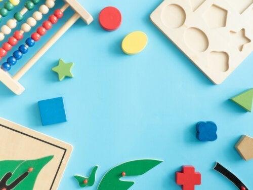 Het beste speelgoed om de psychomotorische vaardigheden van baby's te verbeteren